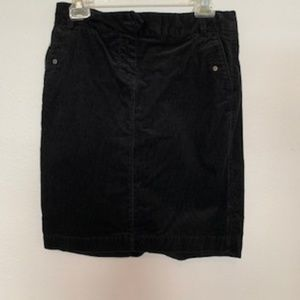 J Crew Corduroy Mini Skirt Used Size 4